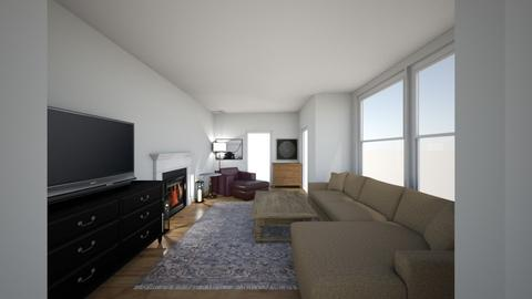 LivingRoomLayout1 - Living room  - by lothianD4