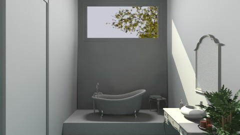 MY DREAM APARTMENT bathr - Glamour - Bathroom  - by zsuzsai