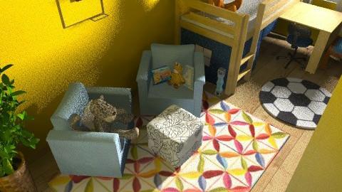 gyerekszoba Edinek c - Modern - Kids room  - by Vargn Nagy Ceclia