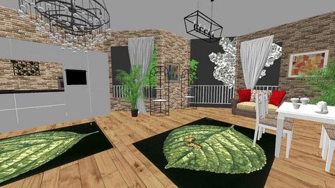 indoor plant room - Living room  - by ekaterine
