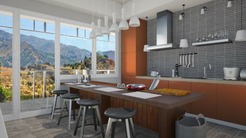 minimalis kitchen - Modern - Kitchen - by cristianyansen