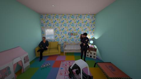 Girls playroom - Kids room  - by Hamzah luvs cats