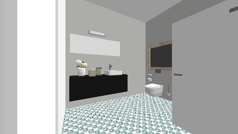 Simplicity - Bathroom  - by AWAD55