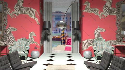 Venice Hotel Lobby Alt. View iray - Eclectic - by pcl2101