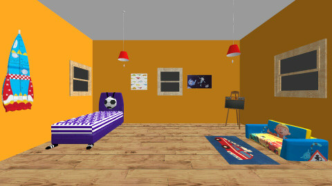 Boys room - Classic - Kids room  - by Abigail Carter