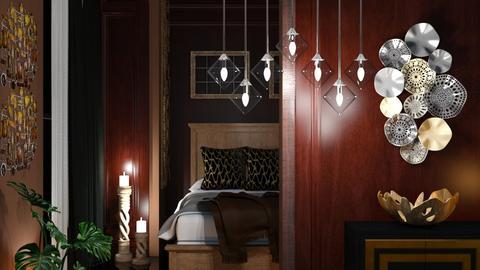 M_Brown br - Bedroom  - by milyca8