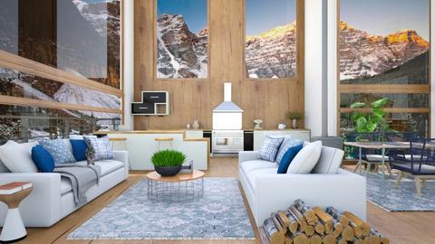 big windous - Living room  - by rasty