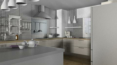 ma future cuisine 1 - Eclectic - Living room  - by calu13