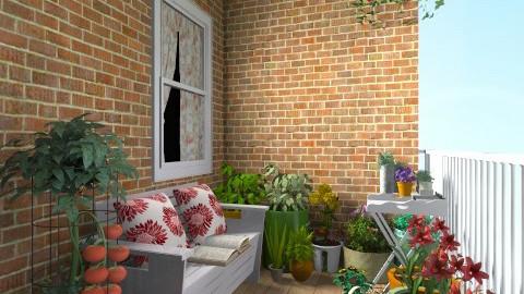 Balcony Garden - Feminine - Garden - by champorado
