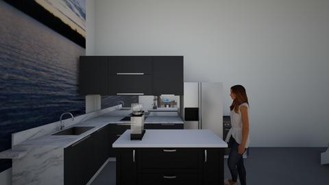 Modern Chic 2 - Modern - Kitchen - by artsy_naturelover