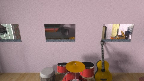 Anchor 4 Drums - Vintage - by Alisa Perez