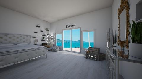 beach house room - Bedroom  - by ange06
