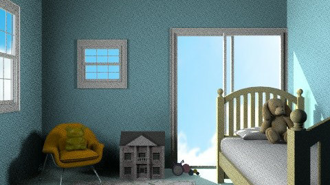 Sunny Afternoon In My Baby's Bedroom - Kids room - by dancer100