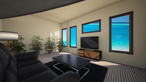 Modern living room - Modern - Living room  - by ijohnson270