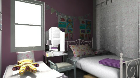 girls'victoria - Bedroom - by Jek Pulido