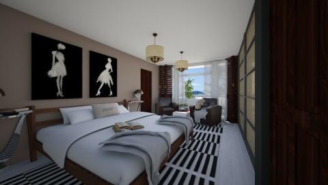 Bedroom redesign - Modern - Bedroom  - by ilcsi1860