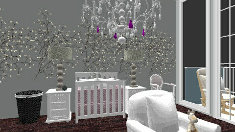 baby girl - Glamour - Kids room  - by nataliaMSG
