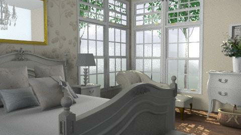 French Feel - Classic - Bedroom  - by laurawoodley