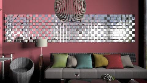 Symple_Ruby - Minimal - Living room  - by milyca8
