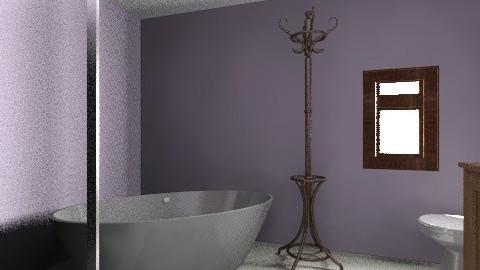 Bathroom final - Vintage - Bathroom  - by sarabartley