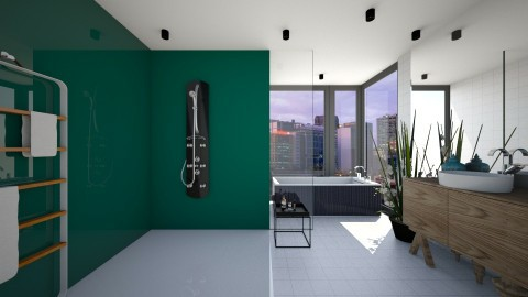 Gloss Splash Bath - Modern - Bathroom  - by 3rdfloor