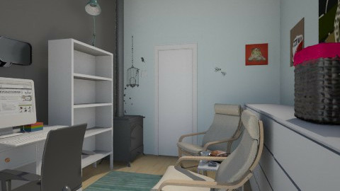 New Home Office 2 - Office - by DoraL