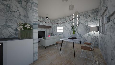 kitchen and living - Living room  - by Natasha W