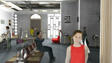 museo de cultura - Classic - Living room  - by ATELOIV87