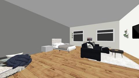 1st room - Modern - Bedroom  - by s28755460