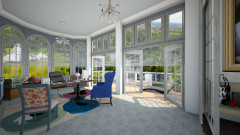home office with a view - Office  - by Conchy