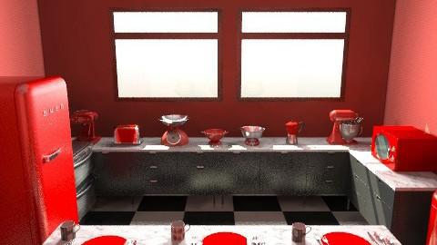 Retro kitchen - Retro - Kitchen  - by Rhiann