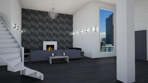Modern Luxury Column  - Modern - Living room  - by stokeshannah