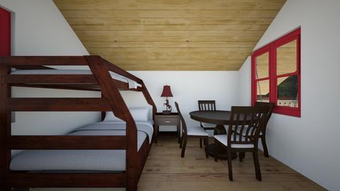 Tiny Cabin 7 - Bedroom  - by SammyJPili