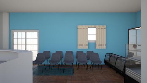 Croquis interno CIPEDI - Modern - by Sandy09