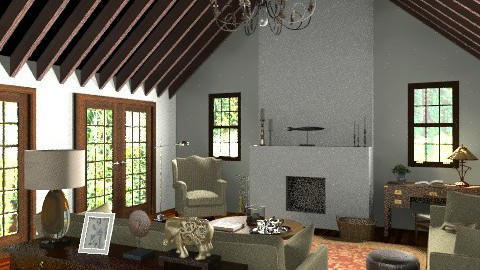 mountain  - Country - Living room  - by fre82