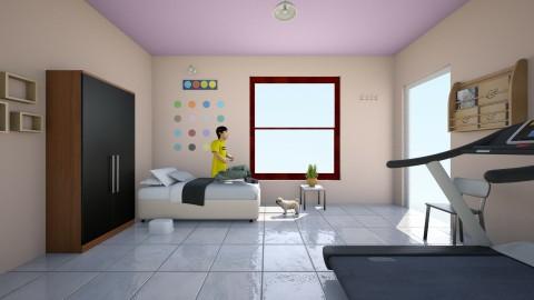 fresh - Retro - Living room  - by poornima nirmala