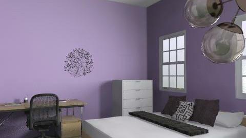 room - Retro - Bedroom  - by valsawka