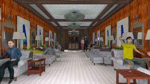 Orient Express Lounge - Retro - by auntiehelen