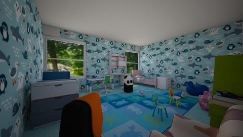 Kids Marine Room - Kids room - by Chickie4012