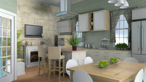 Cotswolds Kitchen One - Country - Kitchen  - by khddesign
