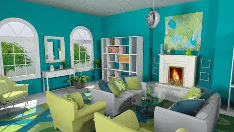 Matchy Matchy 1 - Eclectic - Living room  - by Patti58