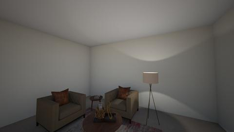 FDC SITTING AREA - Living room  - by vidyas