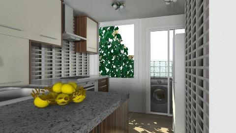 nibiru 50 - Minimal - Kitchen  - by domuseinterior