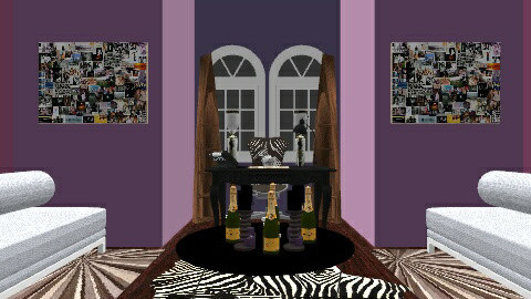 Purples Glamerous Power - Retro - Office  - by Antonio Edmond