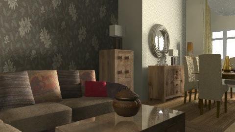 Browns 2 - Vintage - Living room  - by rocknroll53