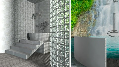 Tropical Luxury  - Glamour - Bathroom  - by tillsa98