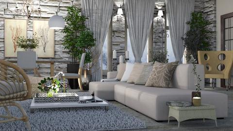 Madrid en enero - Living room  - by LuzMa HL