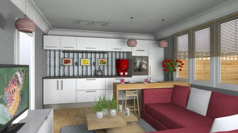 For Cochourson 1 - Eclectic - Living room - by Theadora