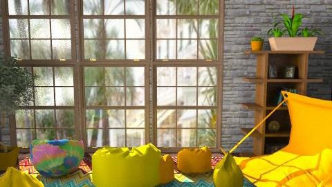 Garden house - Vintage - Garden  - by hmima