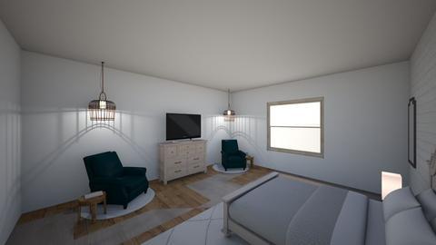 new room  - Bedroom  - by kenziefrazier1